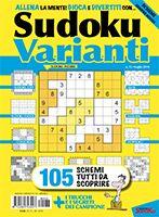Copertina Sudoku Varianti n.33