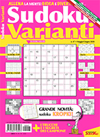 Copertina Sudoku Varianti n.47