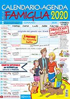 Copertina Calendario - Agenda/Famiglia n.8