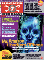 Copertina rivista Hacker Journal