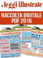 Copertina Leggi Illustrate Raccolta Pdf (digitale) n.1