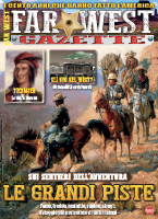 Copertina rivista Far West Gazette