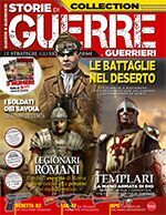 Copertina Guerre e Guerrieri Anthology Extra n.1