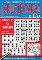 Copertina Crucintarsi & Co n.245