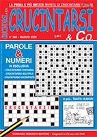 Copertina Crucintarsi & Co n.254