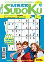 Copertina Sudoku Mese n.120