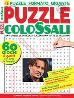 Copertina Puzzle Colossali n.13