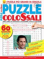Copertina Puzzle Colossali n.19