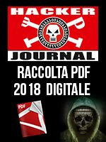 Copertina Hacker Journal Raccolta Pdf (digitale) n.1