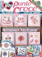 Copertina I Love Punto Croce n.6