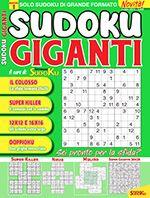 Copertina Sudoku Giganti n.1