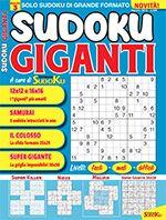 Copertina Sudoku Giganti n.3