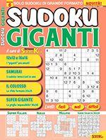 Copertina Sudoku Giganti n.6