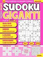 Copertina Sudoku Giganti n.8