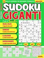 Copertina Sudoku Giganti n.9