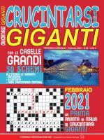 Copertina Crucintarsi Giganti n.20