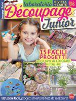 Copertina Laboratorio di Decoupage Junior n.1