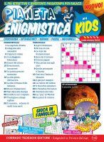 Copertina Pianeta Enigmistica kids n.4