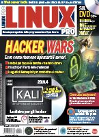 Copertina rivista Linux Pro