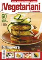 Copertina Vegetariani in Cucina n.35