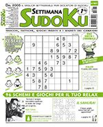 Copertina Settimana Sudoku n.661
