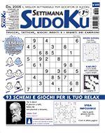 Copertina Settimana Sudoku n.695