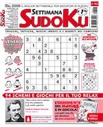 Copertina Settimana Sudoku n.703