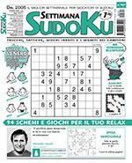 Copertina Settimana Sudoku n.707