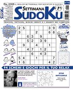 Copertina Settimana Sudoku n.715