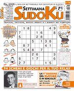 Copertina Settimana Sudoku n.726