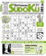 Copertina Settimana Sudoku n.729