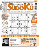Copertina Settimana Sudoku n.731