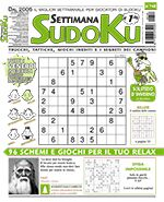 Copertina Settimana Sudoku n.748