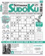 Copertina Settimana Sudoku n.752