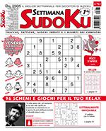 Copertina Settimana Sudoku n.763