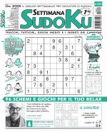 Copertina Settimana Sudoku n.822