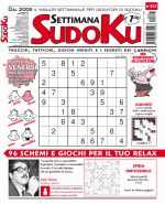 Copertina Settimana Sudoku n.823