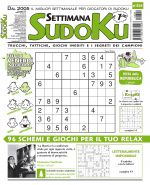 Copertina Settimana Sudoku n.824