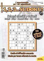Copertina 1,2,3 Sudoku n.144