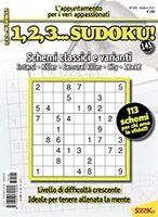 Copertina 1,2,3 Sudoku n.145