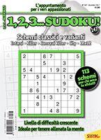 Copertina 1,2,3 Sudoku n.147