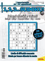 Copertina 1,2,3 Sudoku n.148