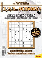 Copertina 1,2,3 Sudoku n.149