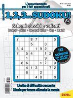 Copertina 1,2,3 Sudoku n.151