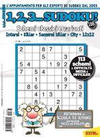 Copertina 1,2,3 Sudoku n.166