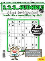 Copertina 1,2,3 Sudoku n.168