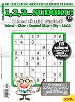 Copertina 1,2,3 Sudoku n.173