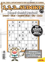 Copertina 1,2,3 Sudoku n.174