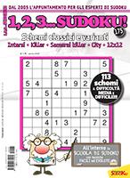 Copertina 1,2,3 Sudoku n.175