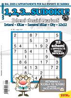 Copertina 1,2,3 Sudoku n.176
